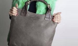 borsa di pelle