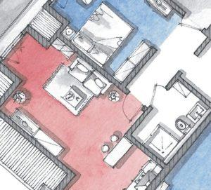 Planimetrie dipinte: 5 valutazioni da fare prima di progettarle.